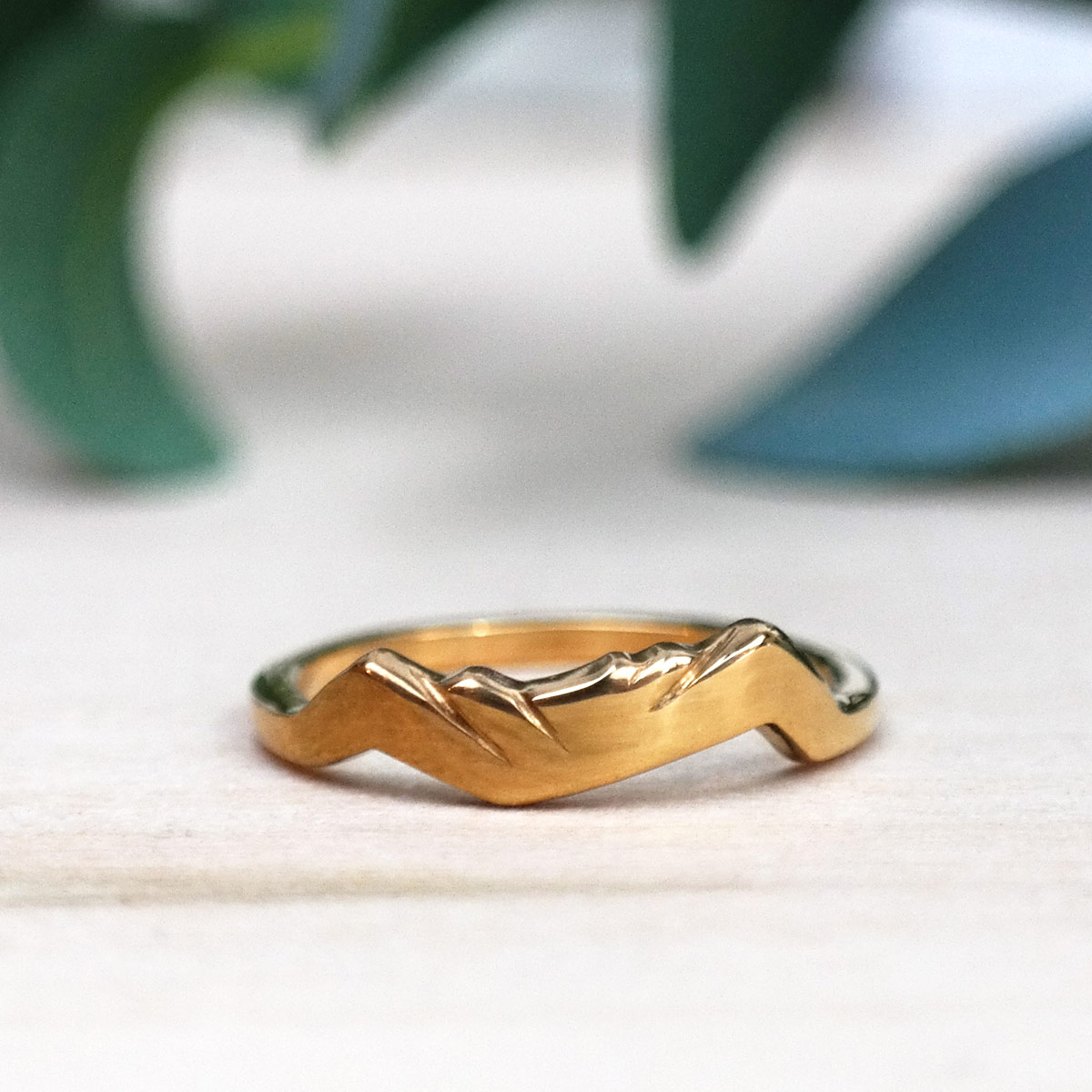 14k gold ring of the appalachian trail