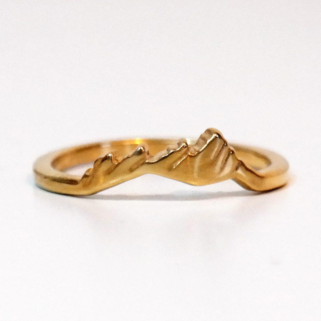 Flatirons custom ring.