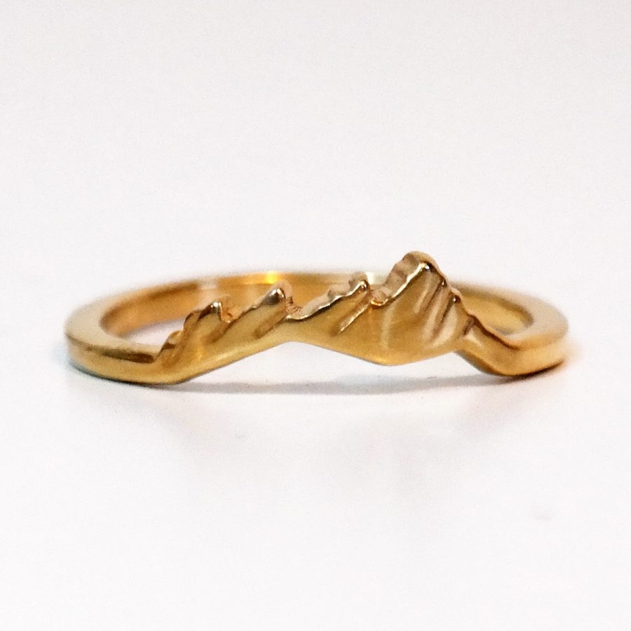 Flatirons custom ring.