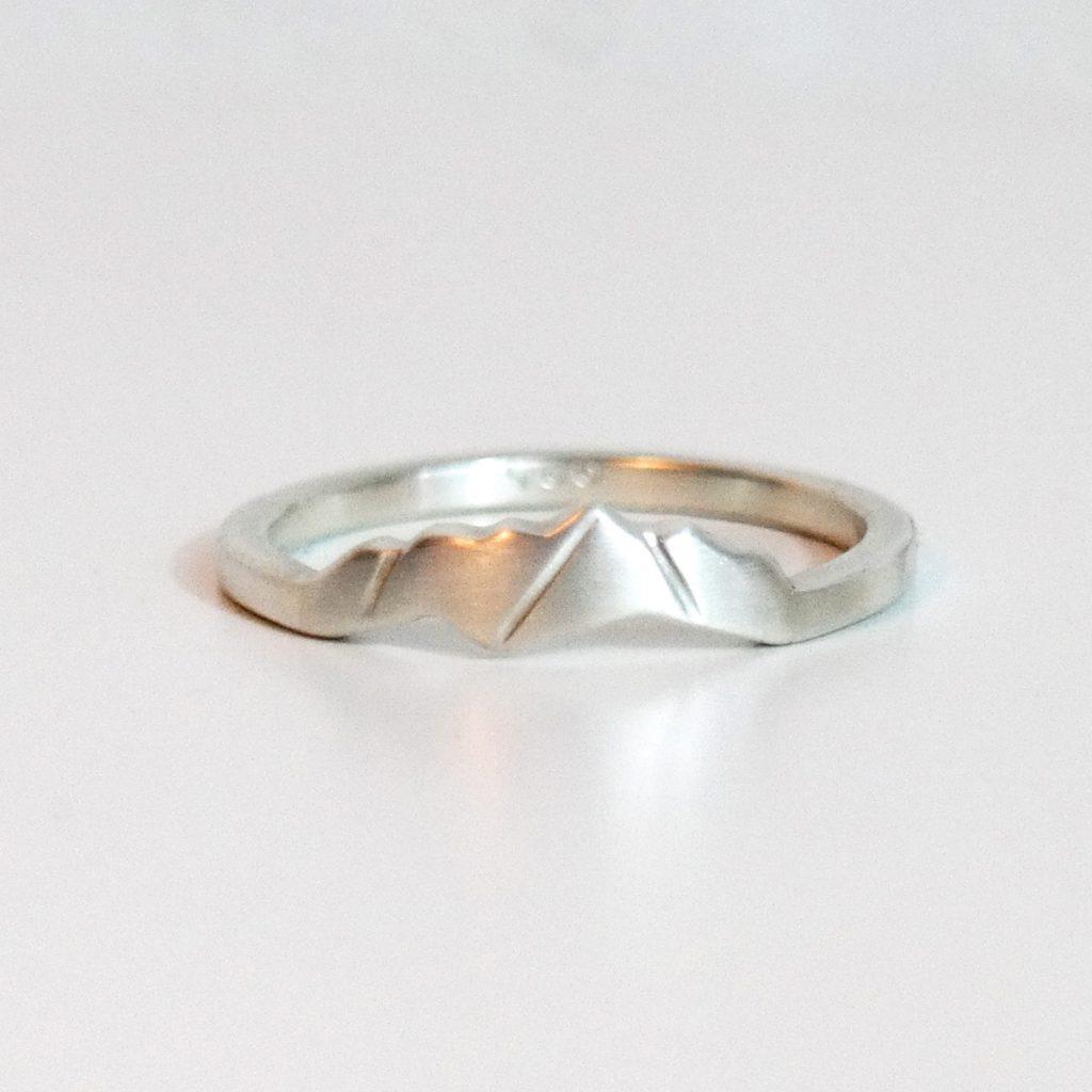Mt Katahdin custom ring