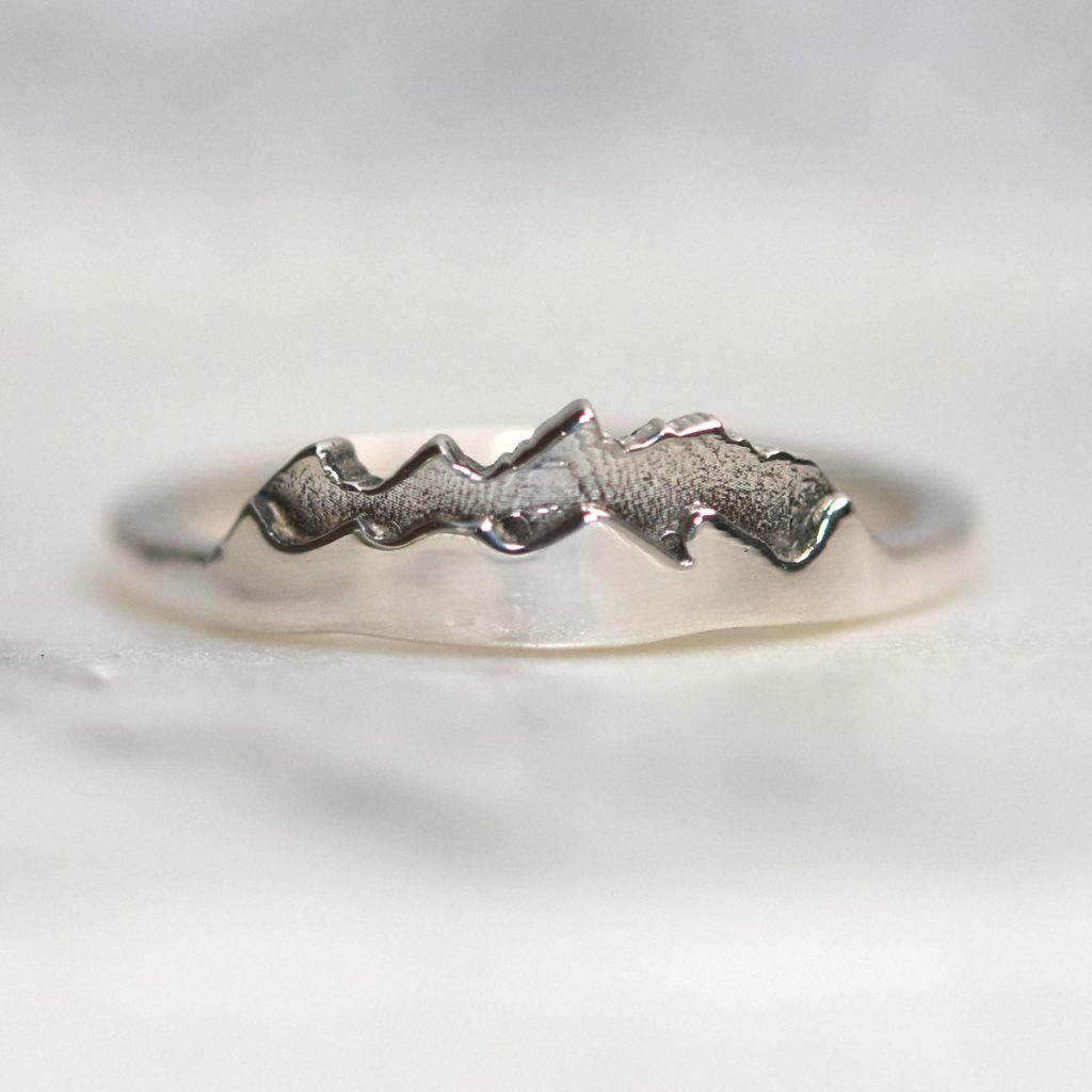 custom mountain ring jackson hole