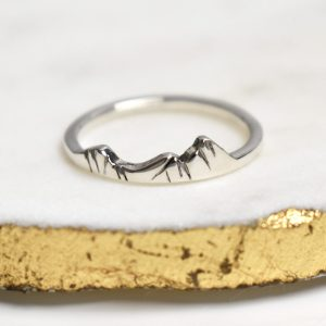 Photo of a custom mountain ring of Hellvellyn