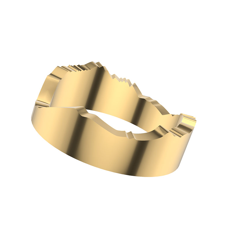 alaska custom mountain ring